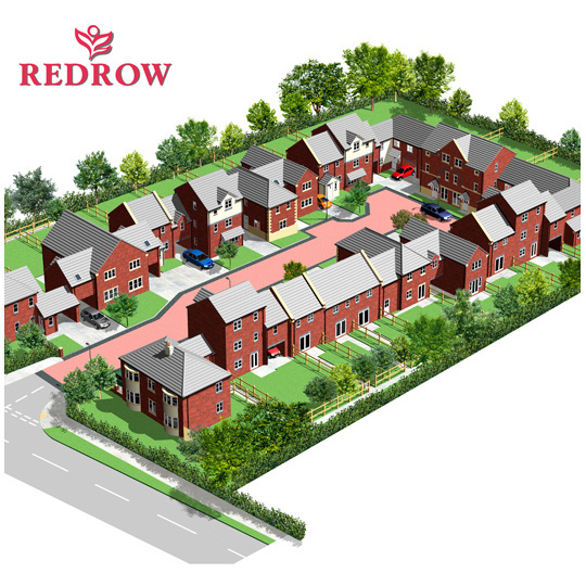 Redrow homes illustration